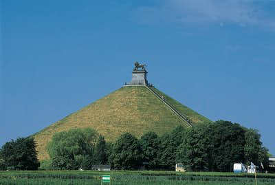 Lion's Mound at battlefield of Waterloo