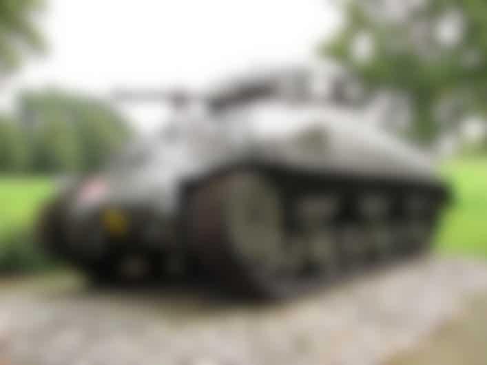 Woensdrecht Sherman Tank