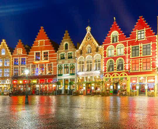Old Market square, Bruges