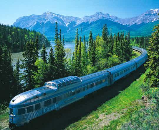 VIA Rail's Canadian train