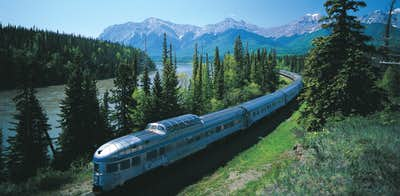 VIA Rail's Canadian train