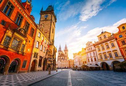 Highlights of Eastern Europe by Air