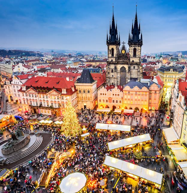 Prague Christmas Markets by Air