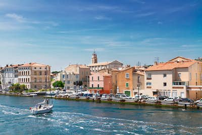 Arles to Port Saint Louis to Martigues