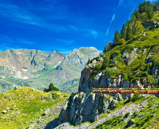 The Red Train of the Pyrenees