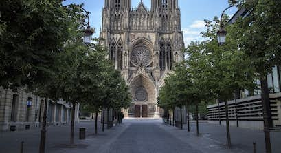 Reims and the Champagne region of France