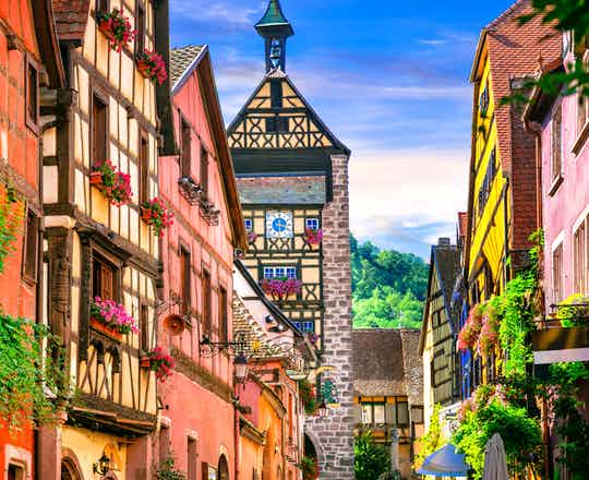 The village of Riquewihr