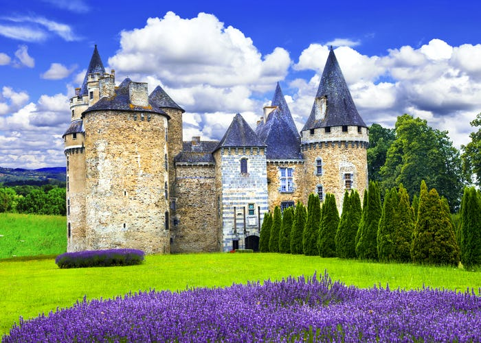 Scenic Dordogne Valley