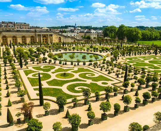 Gardens of the Versailles Palace, France