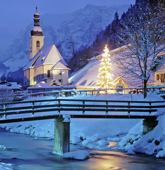 Christmas in the Bavarian Forest