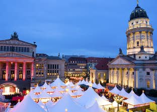 Berlin Christmas Markets by Air