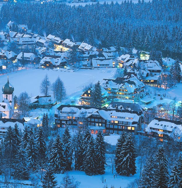 New Year in the Black Forest