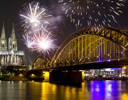 New Year Cruising the Rhine Valley