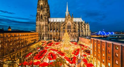 Valkenburg, Aachen & Cologne* Christmas Markets