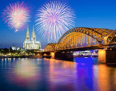 New Year Rhine Cruise on the Prinses Christina