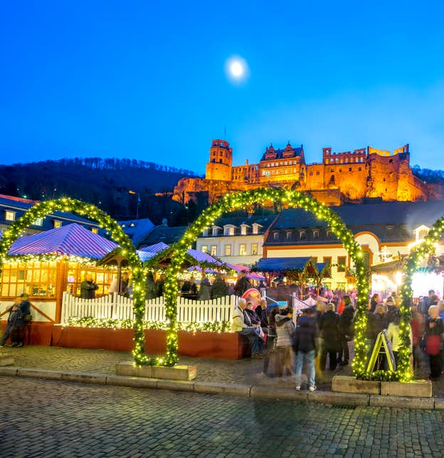 German Advent – Heidelberg, Speyer & Germany's Wine Route