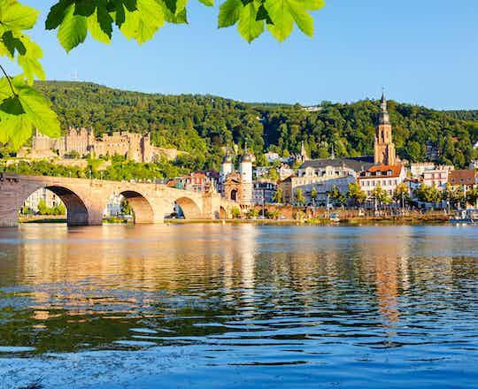 Rüdesheim to Heidelberg