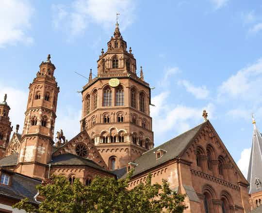 Heidelberg to Worms to Mainz
