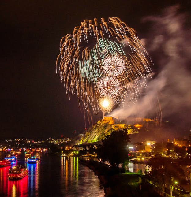 The 'Rhine in Flames' Festival