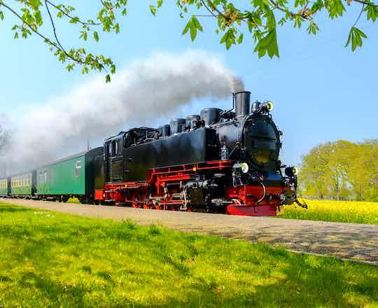 The Rushing Roland Steam Train