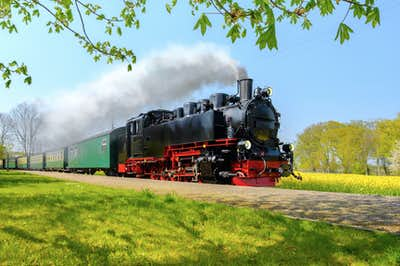 The Rushing Roland Steam Train