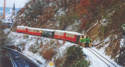 Little Trains of the Romantic Rhine at New Year