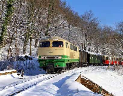 Little Trains of the Romantic Rhine at Christmas