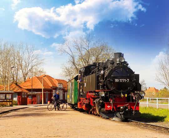 Weisseritztalbahn Train Ride