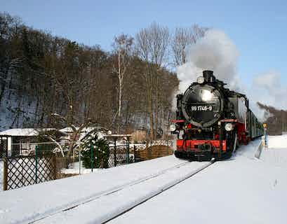 Little Trains of Saxony & Dresden Christmas Markets