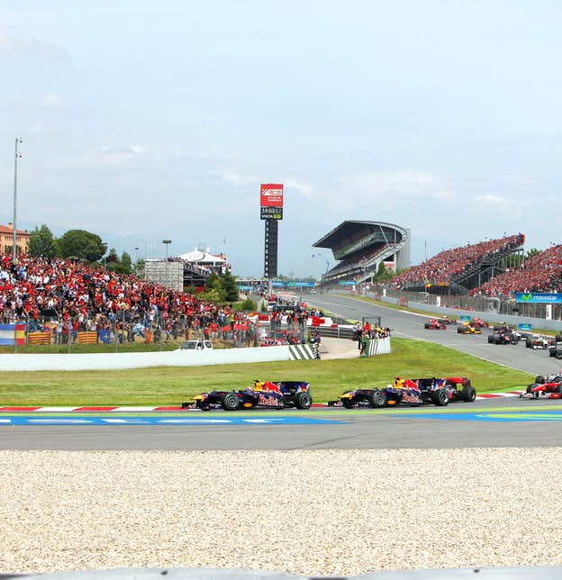 Spanish Grand Prix by Air