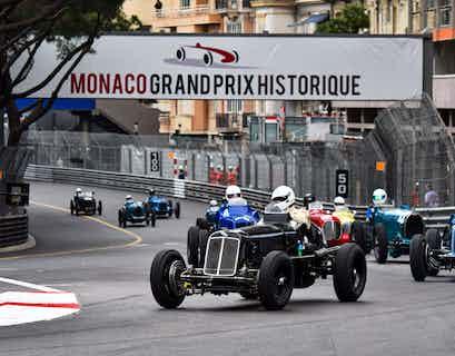 Historic Monaco Grand Prix by Air