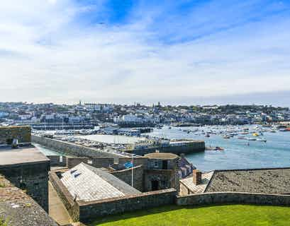 Charms of Guernsey & Herm by Air