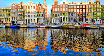Springtime in the Dutch Bulbfields and Amsterdam, including Brussels – Hull crossing