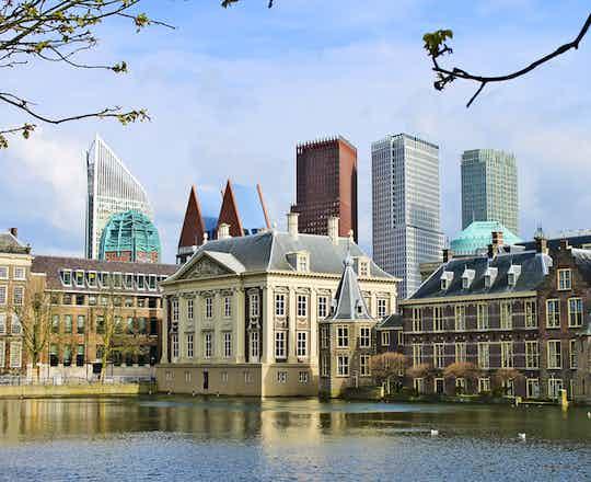 The Hague & Scheveningen; Delft
