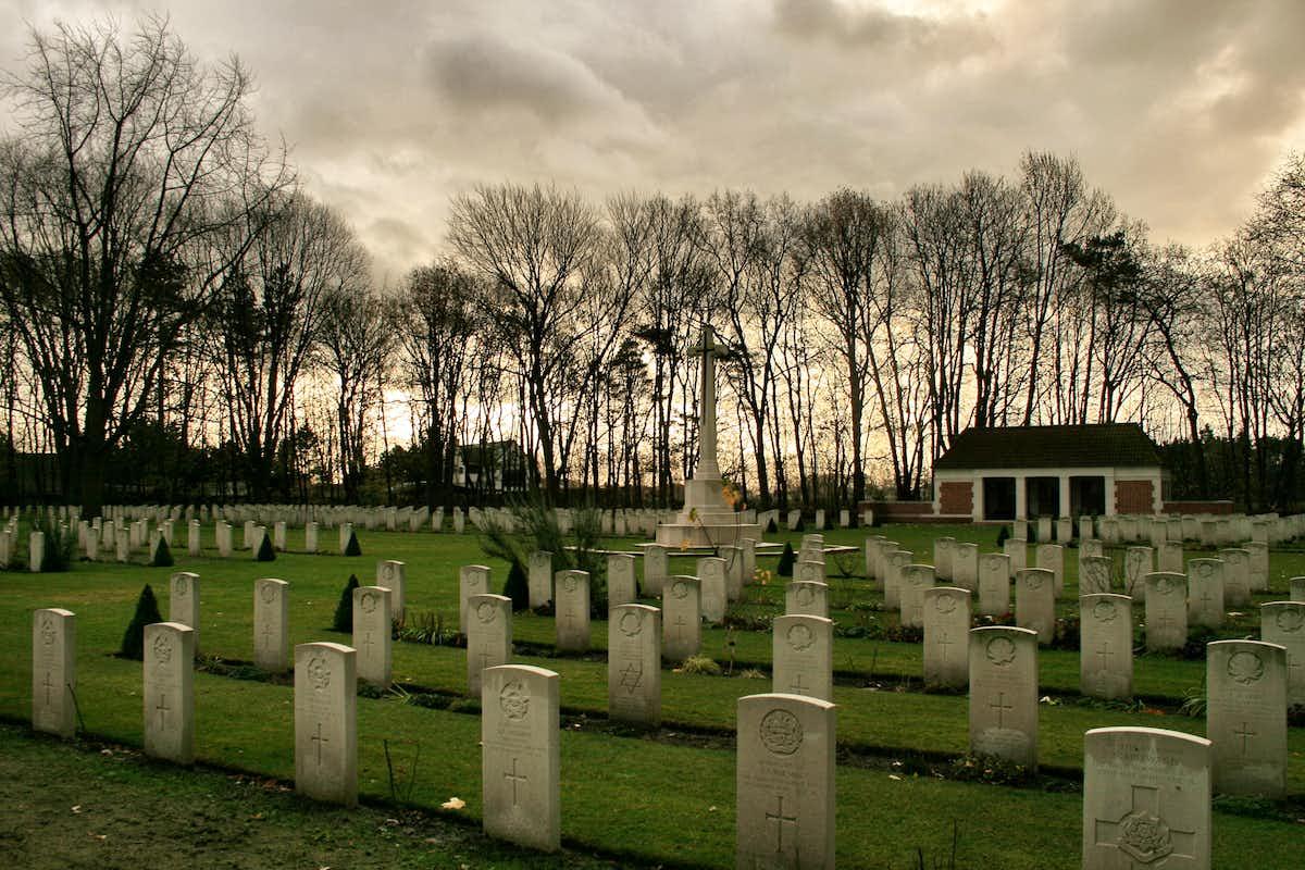 Adegem War Cemetery, Belgium