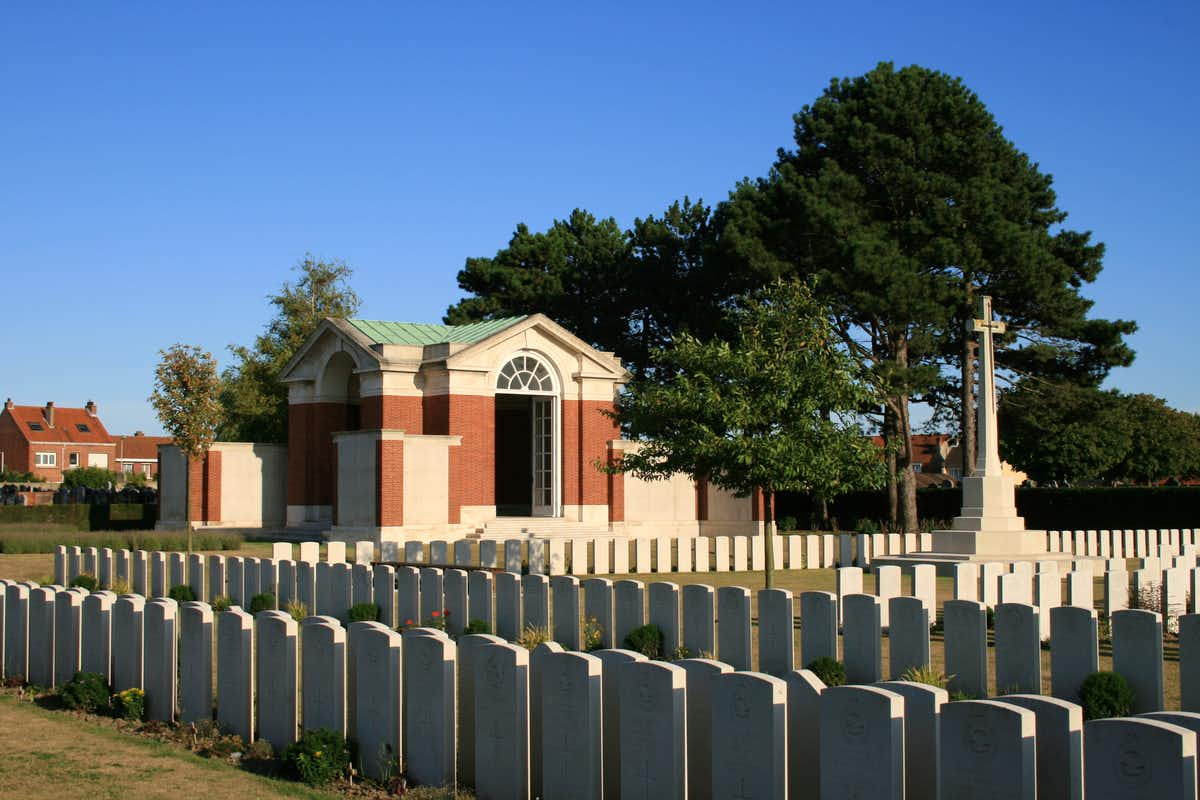 Dunkirk War Cemetery, France