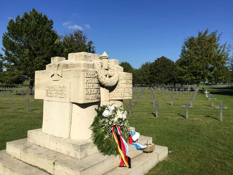 German Cemetery, La Targette