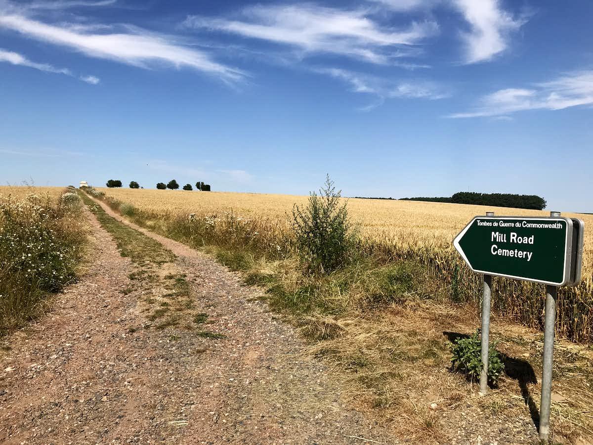 Thiepval Battlefield