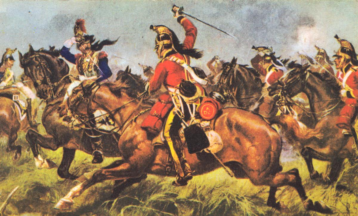 The Battle of Waterloo, Belgium