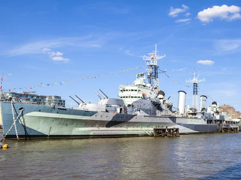 Sleep overnight on board HMS Belfast