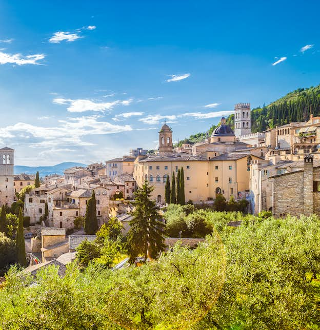 Umbria Uncovered and Tuscan Delights: Assisi, Perugia, Florence & Siena