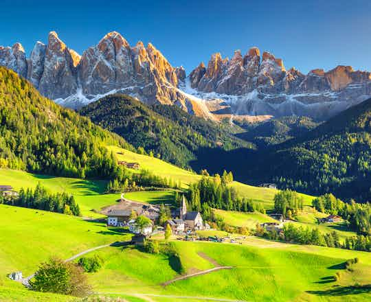 The magical Dolomites