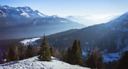 Italian Dolomites Winter Wonderland Spectacular