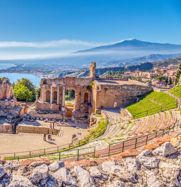 Treasures of Sicily by Air