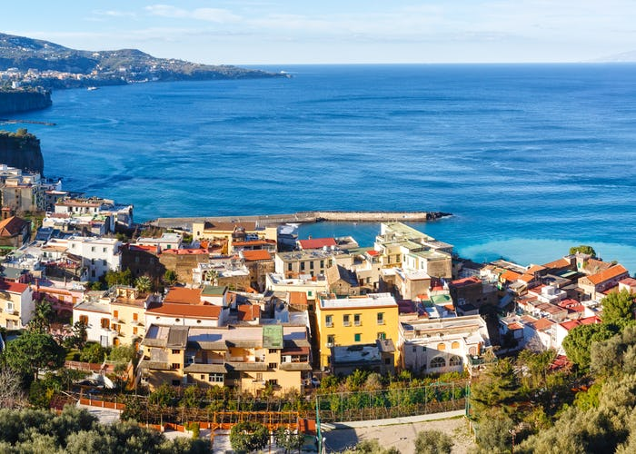 Sorrento and Guided Sightseeing