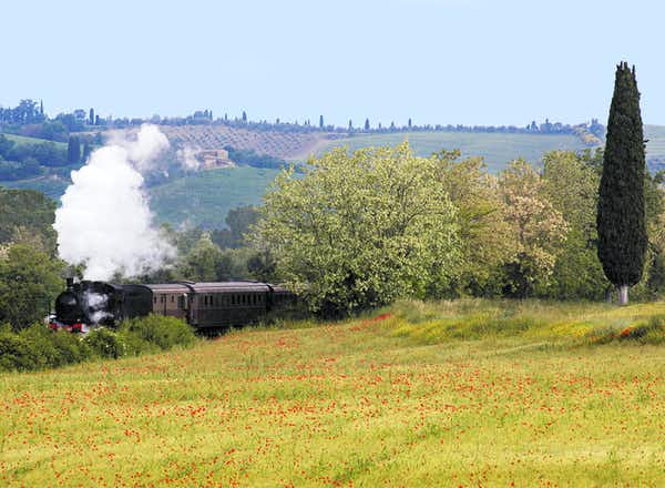 Steaming through the heart of Tuscany & Sagra del Tordo Festival