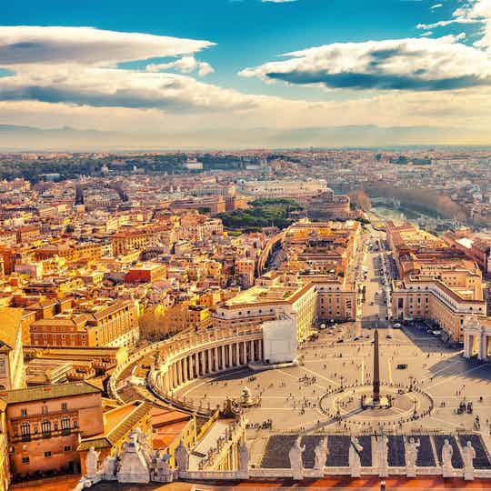 Rome with the Vatican City
