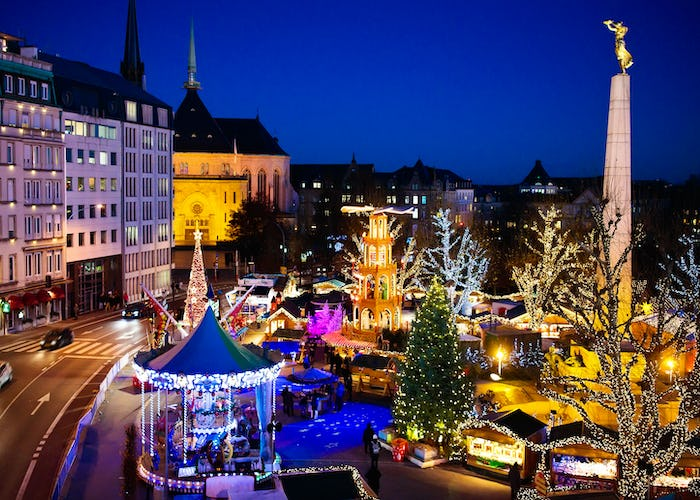 Luxembourg Christmas Markets