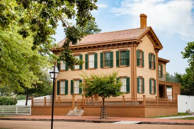 Abraham Lincoln's house in Springfield