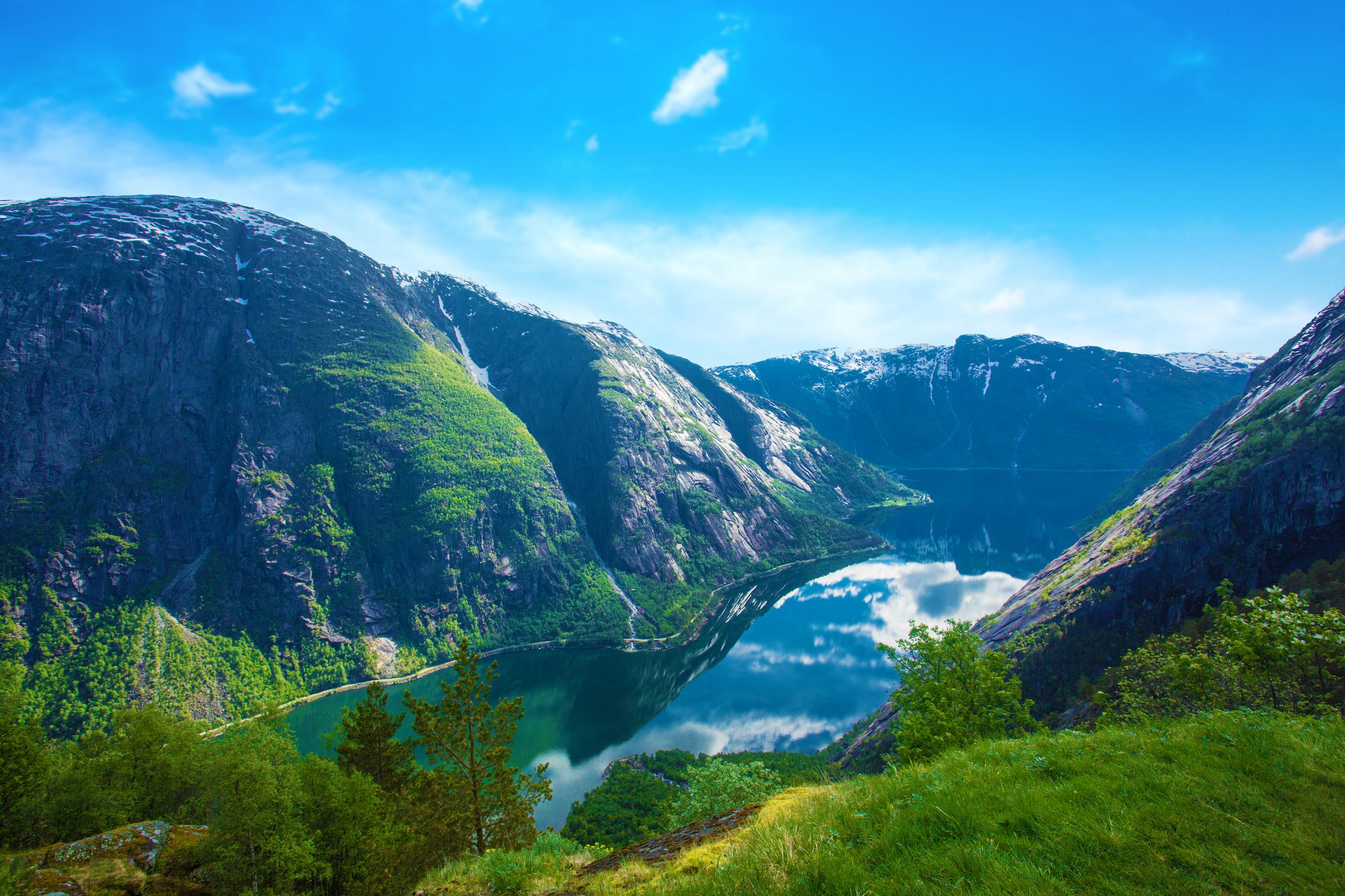 Picturebook Norway Fjordland Spectacular Tour Leger